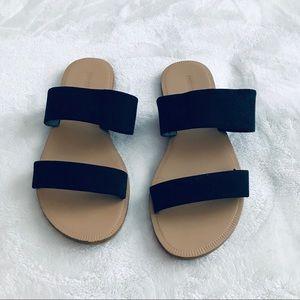 🍂 2 Strap Suede Sandals